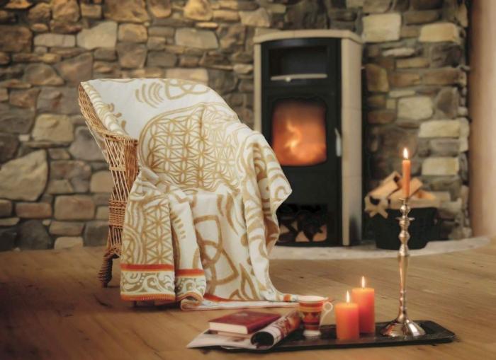 blume des lebens decke by spirit of om. Black Bedroom Furniture Sets. Home Design Ideas