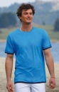 Basic T-Shirt Men azurblau